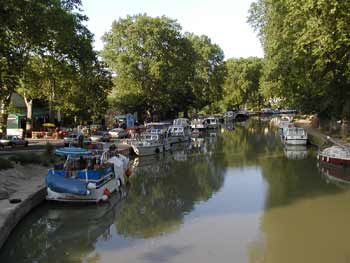 Capestang - Canal du Midi